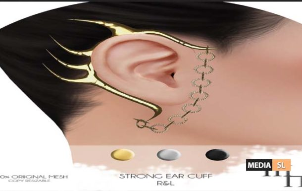 Strong Ear Cuff by Madame Noir – NEW