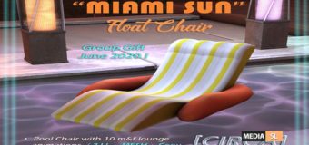 "Miami Sun"" Float Chair – Gift"