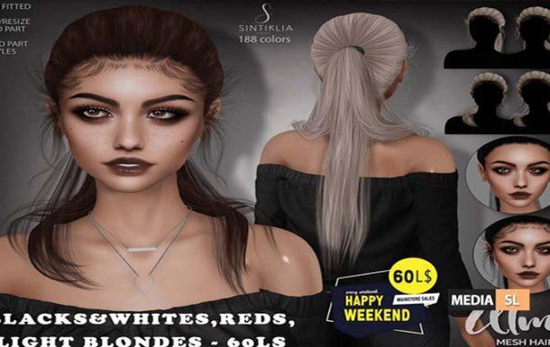 Hair Alma 60Ls Happy Weekend – Sale