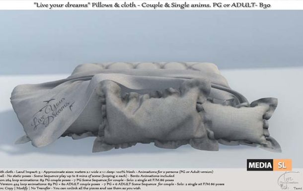 "Live your dreams"" Pillows & cloth  – NEW DECOR"