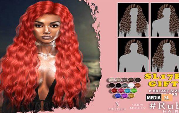 SL17b Ruby hair GIFT – GIFT