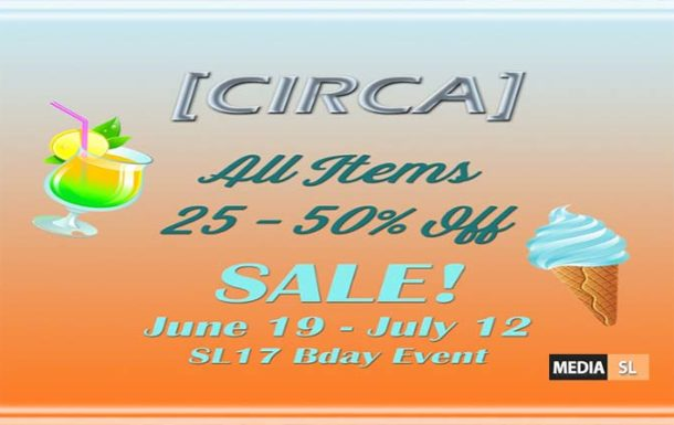 CIRCA Living @ SL17B ~ Shop & Hop with Birthday – Sale