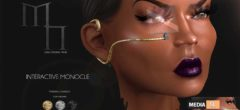 Interactive Monocle by Madame Noir  – NEW