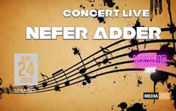 NEFER ADDER CONCERT LIVE TODAY @ VERSUS EVENT !! – Show