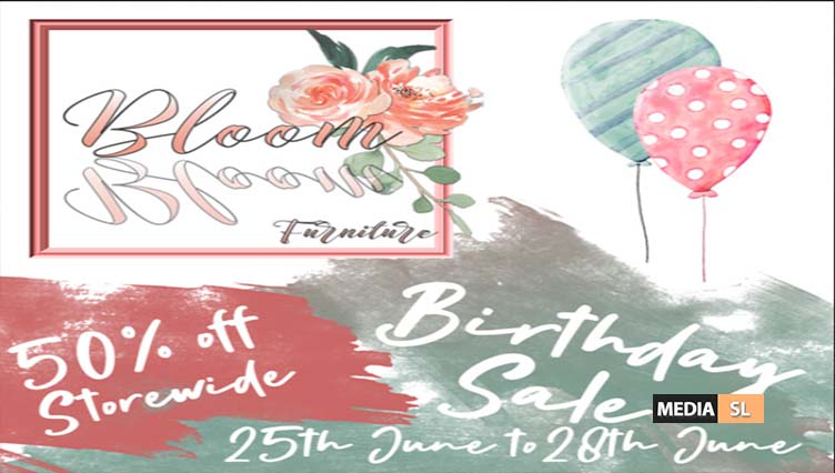 Bloom! Birthday Sale 25th June to 28th June! – SALE