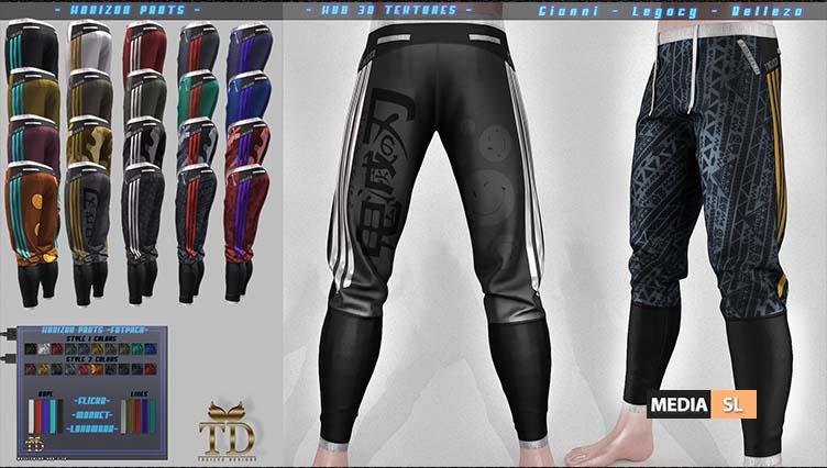 "►""TD"" Horizon Pants – FATPACK – SALE"