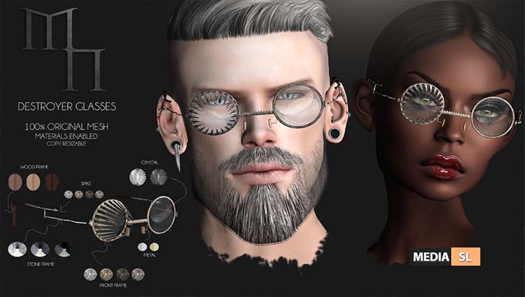Destroyer Glasses by Madame Noir – NEW