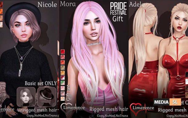 {Limerence} Adele hair&Nicole hair&Mora hair – GIFT