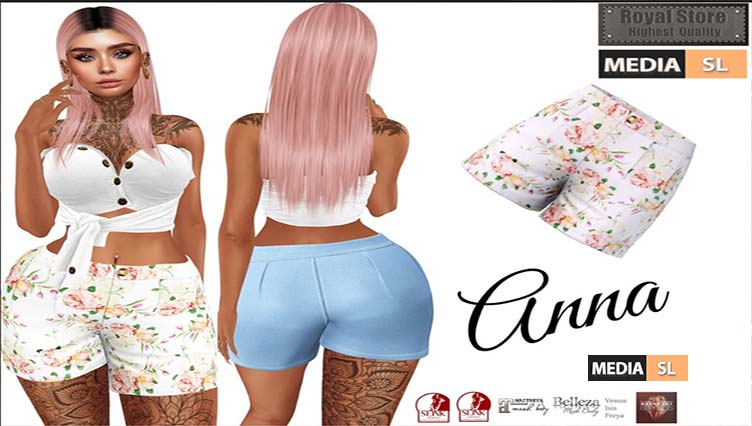 .:RS:. Anna Short in main store only 89 Ls – NEW