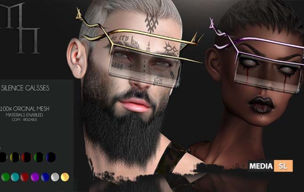 Silence Glasses by Madame Noir – NEW