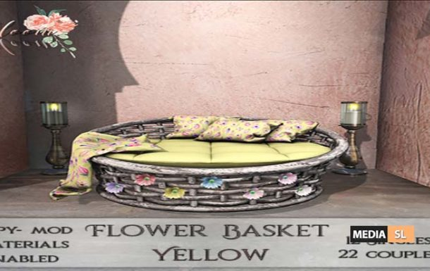 Bloom! – Flower Basket  – NEW DECOR