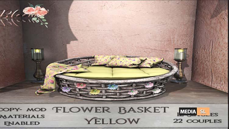 Bloom! – Flower Basket  – NEW DECOR