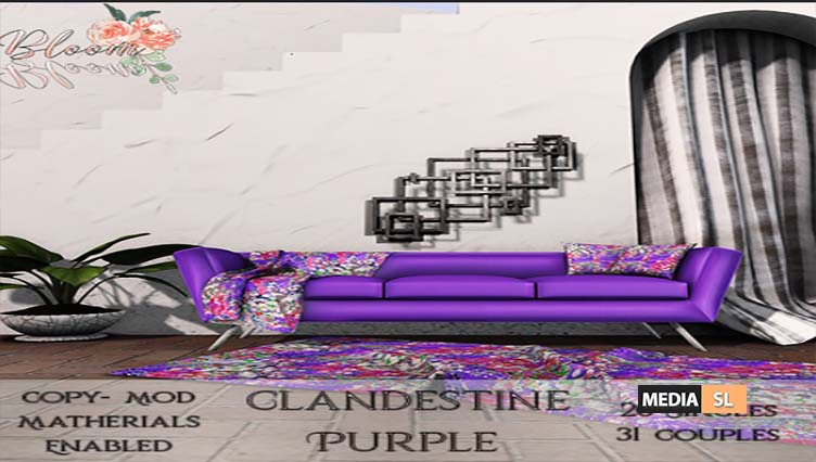 Bloom! – Clandestine   – NEW DECOR