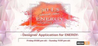 Designer Application for ENERGY – APPLI