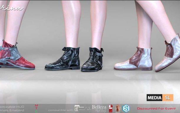 Remezzo – Corina Boots – NEW