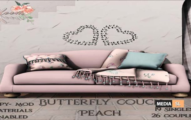 Blom! – Butterfly Couch  – NEW DECOR