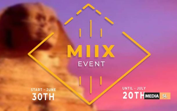MIIX EVENT – June- July 2020