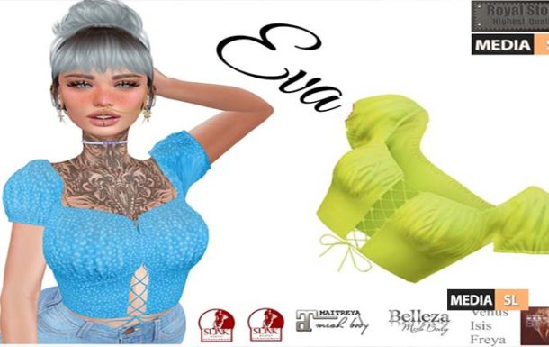 .:RS:. Eva Summer Top 89 Ls in main store – NEW