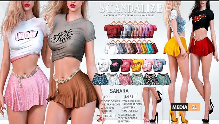 SCANDALIZE @ Sense Event – NEW