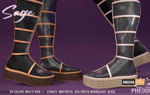 """Phedora """"Sage"""" Platforms ♥ – NEW"""