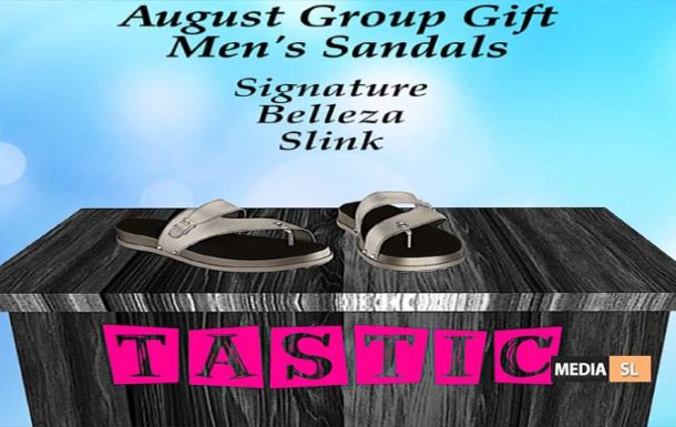 Tastic-August Men's Sandals Group Gift!!  – GIFT