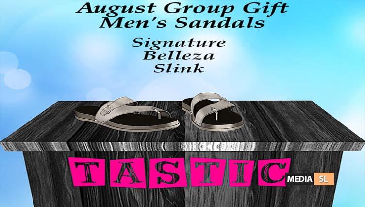 Tastic-August Men's Sandals Group Gift!!  – GIFT