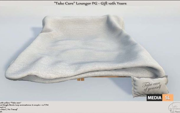 Take Care Lounger PG Gift 10th Years – Gift
