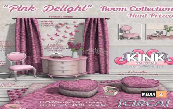 [CIRCA] – Pink Delight – Room Collection – NEW DECOR