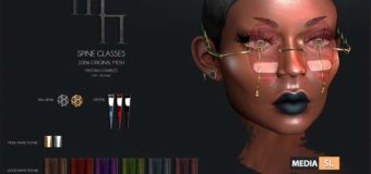 Spine Glasses by Madame Noir – NEW