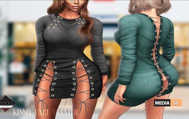 Kimmy Lace Sweater – NEW