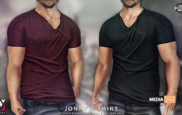 Jonny T-shirt – NEW MEN