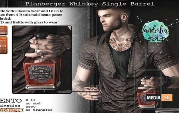 Planberger Whiskey Single to wear – Sale