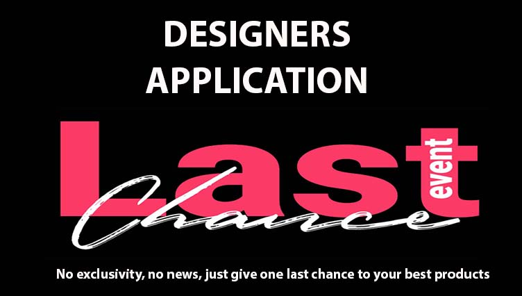 LAST CHANCE EVENT DESIGNERS APPLICATION – APPLI