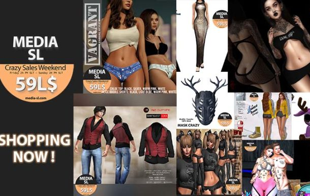 MEDIA SL CRAZY SALE WEEKEND – June 12-14TH