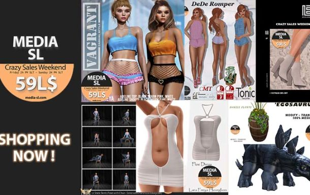 MEDIA SL CRAZY SALE WEEKEND – June 19-21TH