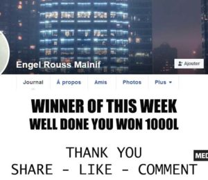 Winner of this week – Winner
