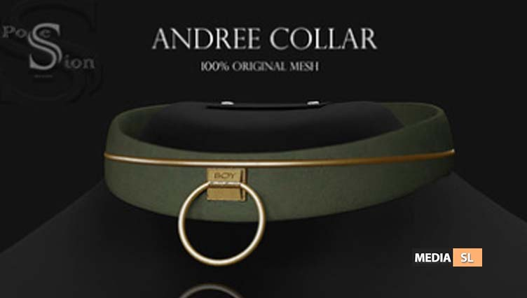 PosESioN Andree Collar at XXX Original Event – NEW
