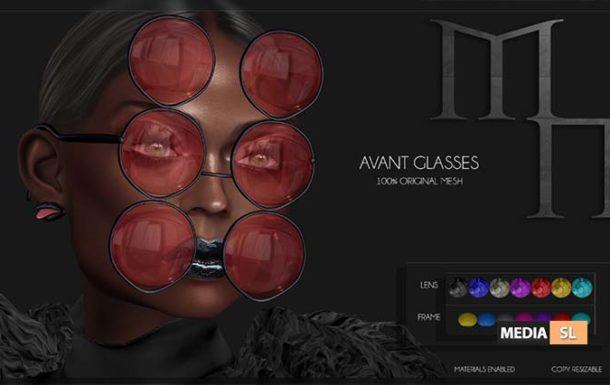 Avant Glasses by Madame Noir  – NEW