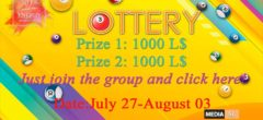 LOTTERY ENERGY AUGUST 03-10 – SALE