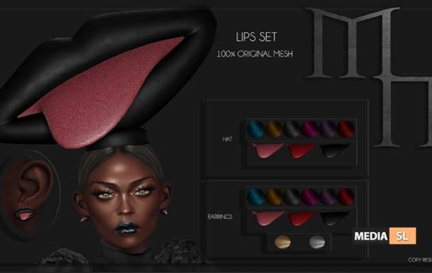 Lips Set by Madame Noir  – NEW