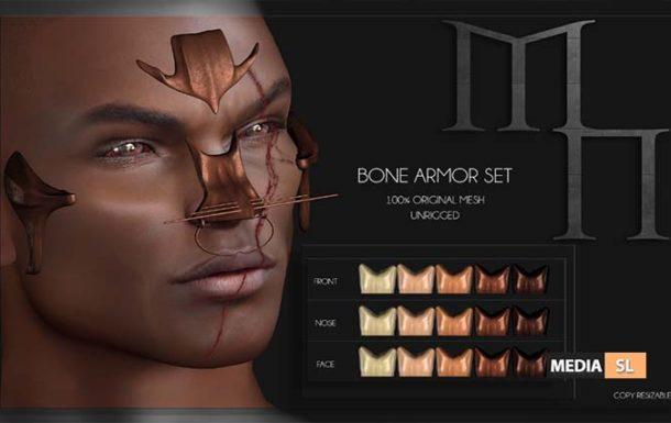 Bone Face Armor by Madame Noir– NEW MEN