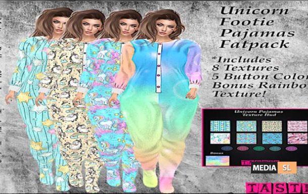 Tastic- Unicorn Footie Pajamas!!  – NEW