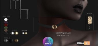 Elektra Necklace AD pop up by Madame Noir – NEW
