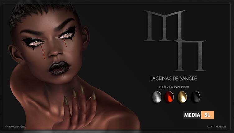 Lagrimas de sangre by Madame Noir  – NEW