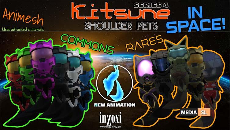[inZoxi] – Animesh Kitsunes Series 4 – SPACE! – NEW
