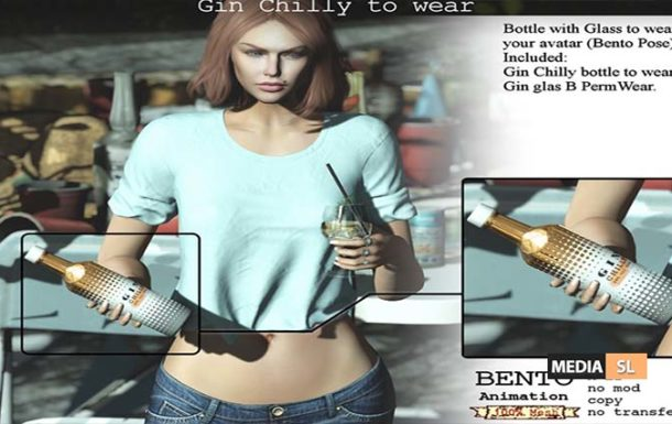 Gin Chilly B to wear – NEW