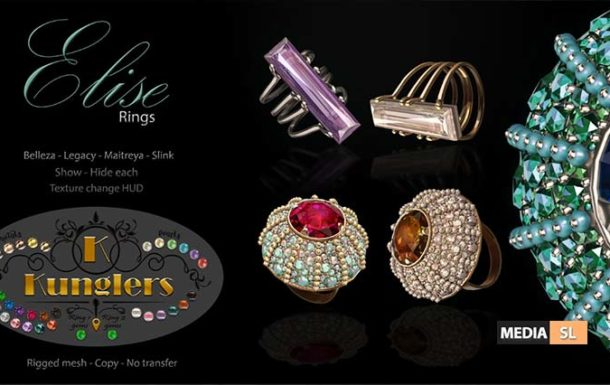 KUNGLERS – Elise rings vendor – NEW