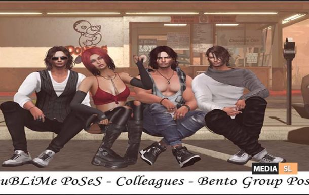 SuBLiMe PoSeS – Colleagues – Bento Group Pose – NEW