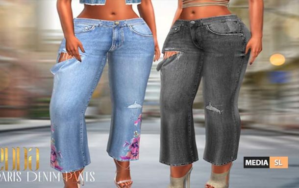 Paris Denim Pants – NEW