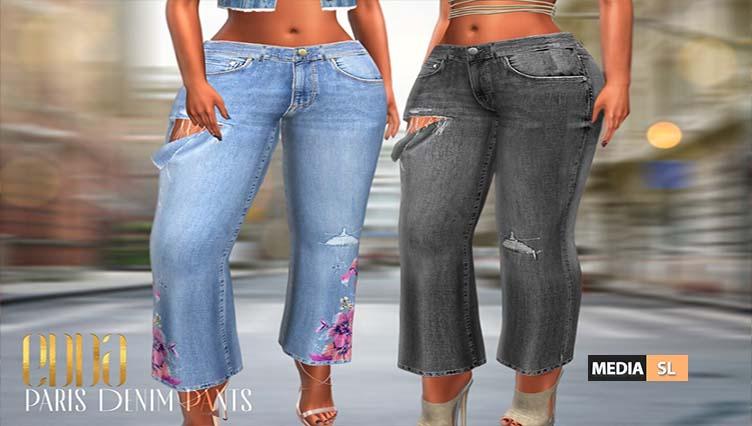 Paris Denim Pants – NEW
